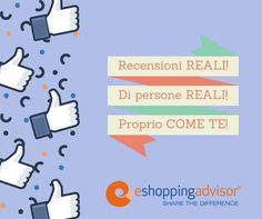 Semplicemente NOI!  Persone che aiutano altre Persone a vivere esperienze positive per gli acquisti online. Rimaniamo in contatto continua a seguirci su questa pagina.  #community #personereali #recensionireali #rapportiumani