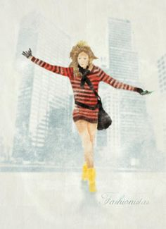 {Fashionistas Illustration}, by Unknown Designer 2d Art, Graphic Design, Illustration, Painting, Painting Art, Paintings, Illustrations, Painted Canvas, Visual Communication