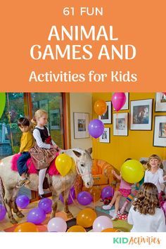 A collection of fun animal themed games and activities for kids. Great for animal themed birthday parties. #KidActivities #KidGames #ActivitiesForKids #FunForKids #IdeasForKids Outdoor Games For Kids, Fun Games For Kids, Games For Toddlers, Animal Themed Birthday Party, Birthday Party Games For Kids, Birthday Parties, Indoor Activities For Kids, Kid Activities, Summer Party Games