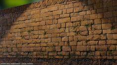 ArtStation - Stone Wall Substance, Adam Tinning