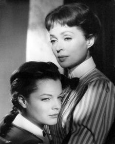 Romy Schneider, Lilli Palmer -- Mädchen in Uniform (1958)