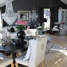 Come get inspired with these amazing luxurious living room designs at http://www.maisonvalentina.net/