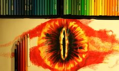 https://flic.kr/p/AXpaNW | Eye of Sauron Drawing | YouTube Video coming soon!