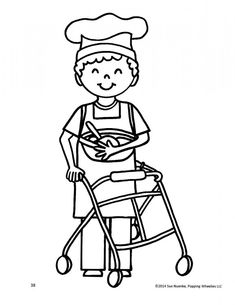 LGBT family coloring page NOLA Gay Pride 2014