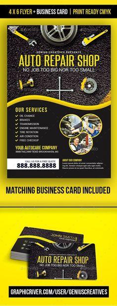 10 Automotive Business Cards Ideas