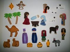 Nativity Christmas Advent Calendar