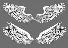 Free Wings Vector Graphics