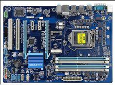 Livraison gratuite origine carte mère pour gigabyte GA-Z77P-D3 LGA 1155 DDR3 Z77P-D3 conseils 32 GB USB3.0 Z77 bureau carte mère
