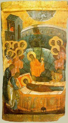 Orthodox Icons, Virgin Mary, Fresco, Spirituality, Painting, God, Dios, Fresh, Painting Art