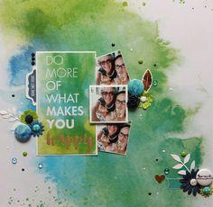 Accent Scrapbooking: Do more of what you makes you happy par Elisabeth