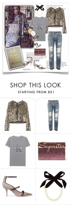 """""""My Best Wishes for YOU!!!"""" by angelicallxx ❤ liked on Polyvore featuring Emilio Pucci, Dolce&Gabbana, Calvin Klein Jeans, Charlotte Olympia, Malone Souliers, Lulu Frost and newyear"""