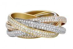 Three loop #Trinity #DiamondRing