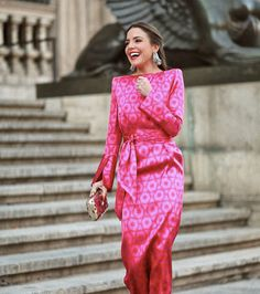 Thrift dress with sash Women's Fashion Dresses, Sexy Dresses, Summer Dresses, Pink Dress, Dress Up, Event Dresses, Simple Dresses, Fashion Beauty, Style Inspiration