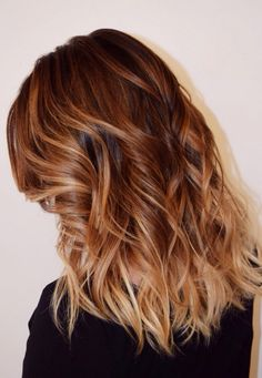 Balayage color by Courtney McDonald
