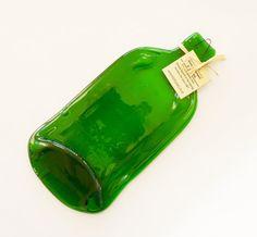 Flat Gordon's gin bottle spoon rest melted bottle by KilnFiredArt, £10.00