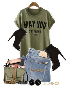 """Untitled #1570"" by anarita11 ❤ liked on Polyvore featuring Nudie Jeans Co., Marc Jacobs, ncLA and L'Autre Chose"