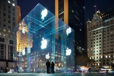 Apple Store, Quinta Avenida (Nueva York) - Las tiendas más arquitectónicas del mundo