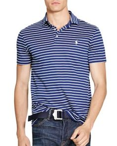 POLO RALPH LAUREN Striped Pima Soft Touch Regular Fit Polo Shirt. #poloralphlauren #cloth #shirt