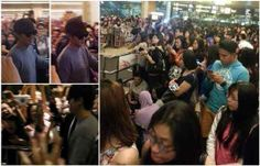 Lee min ho in singapore airport