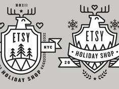Holiday Shop Badge  by Jeremy Perez-Cruz