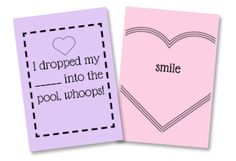 Hearts to Hearts, A Printable Card Game by SaynotsweetAnne | Skip To My Lou
