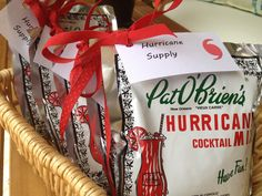 Hurricane party favors!