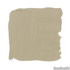 """Meditation AF-395 - Benjamin Moore """"The name alone describes the restful, far‐away‐from‐the‐rat‐ race quality you're after. This is a greige moving toward mushroom or khaki. Warmer than taupe, cooler than a brown paper bag. It's deep and full and changes with the light. Add a rich velvet headboard and a silky rug in corally pink."""" —Tori Golub"""