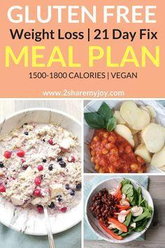 21 day fix meal plan pdf gluten free