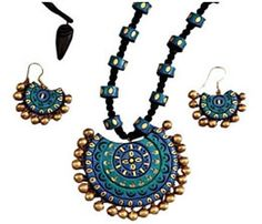 terracotta jewellery making materials - Google Search