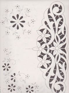 New Embroidery Machine Designs Wedding 55 Ideas Embroidery Hearts, Cutwork Embroidery, Embroidery Flowers Pattern, Vintage Embroidery, Embroidery Stitches, Wedding Embroidery, Whole Cloth Quilts, Lace Painting, Sewing Machine Embroidery