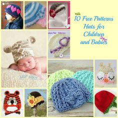 I love making hats for children and babies, more so babies because the tiny hats are just the cutest thing ever. Plus, they are a quick and easy project that you can whip up in an hour, if that. Wh...
