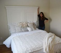 Ana White | Build a Tall Panel Headboard - QUEEN | Free and Easy DIY Project and Furniture Plans
