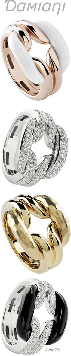 Brilliant Luxury by Emmy DE * Damiani 'Lace' Rings
