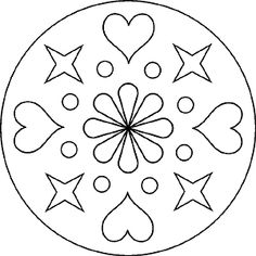 Simple mandala template with hearts and stars Simple mandala template . - - Simple mandala template with hearts and stars Simple mandala template with hearts and star - Dot Art Painting, Mandala Painting, Stencil Painting, Coloring Book Art, Mandala Coloring Pages, Colouring Pages, Mandala Stencils, Quilting Stencils, Mandalas For Kids