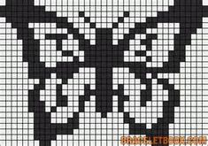 perler bead butterfly pattern - Yahoo Image Search Results