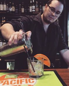We've had a mixing session down here today! This is Alex, our new bar dude, experimenting with mead cocktail recipes! 🍹 #cocktails #meadcocktails #experimenting #meloncocktail #tasty #drinkspecials #specialcocktails #thebeehivehotel #hawthornpub