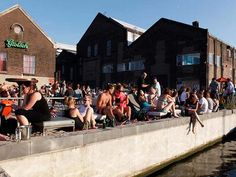 Amsterdam Roest: industrial city beach | http://www.yourlittleblackbook.me/amsterdam-roest-city-beach/