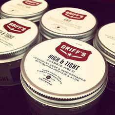 Our High & Tight Classic Hold Griff's Pomade - Made from the finest ingredients including the purest & most concentrated form of quinoa protein, to give your hair maximum strength. Exclusively Available at 18 8 Fine Men's Salons Nationwide #GroomLikeGriff