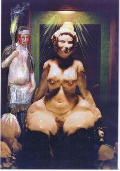 Das Ritual zu Ehren der Venus beginnt. Pygmalion bringt der Liebesgöttin ein Rauchopfer dar.