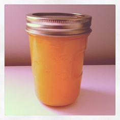 Homemade Lemon Honey  Recipe from www.ilovenesting.com Fermented Honey, Honey Recipes, Mason Jars, Goodies, Southern, Lemon, Homemade, Dinner