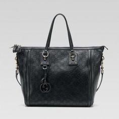 247280 Ahb7g 3014 Gucci Charm Large Top Griff Tasche mit Leder Gg Gucci Damen Handtaschen