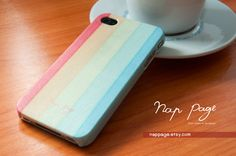 pastel stripes case