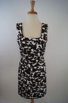 Milly Chocolate Print Dress