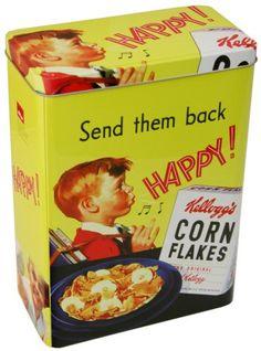 Kelloggs Vintage Cereal Tin - Corn Flakes Retro Yellow Storage Tin Kellogg's http://www.amazon.co.uk/dp/B00BL0YYXM/ref=cm_sw_r_pi_dp_NfT.vb0V5B9V6