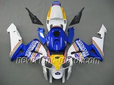Honda CBR 600RR F5 2005-2006 ABS Fairing - Rothmans-2005-2006    #06cbr600rrFairingKit #05cbr600rrFairings