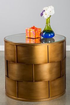 Statements by J: Bomba Side Table - Love this