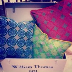 Image of Neon Flower Cushions