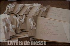 Notre mariage Chic et Champêtre DIY - pour budget serré - Livret de culte - messe 1 : Album photo - aufeminin.com : Album photo - aufeminin.com - aufeminin