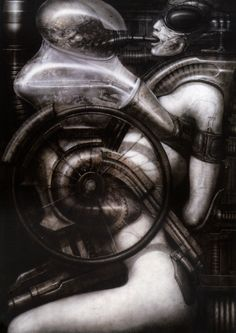 HR Giger - Biomechanoids - 1976