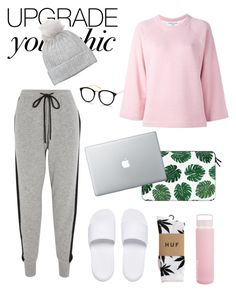 """""""Cozy-Chic"""" by barelyforeignview on Polyvore featuring Markus Lupfer, YMC, Sunnylife, Casetify, Puma, HUF and Badgley Mischka"""